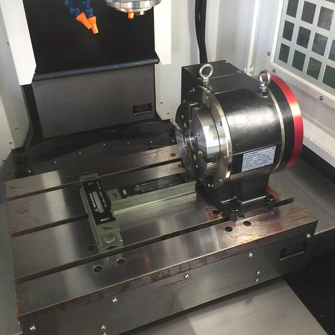 7 DDR Rotary Table 125 4X-1
